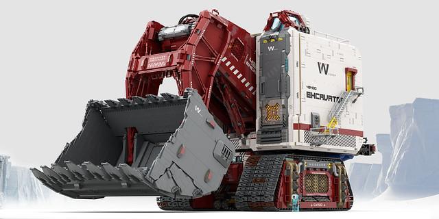 WEGENER mining 48400 excavator