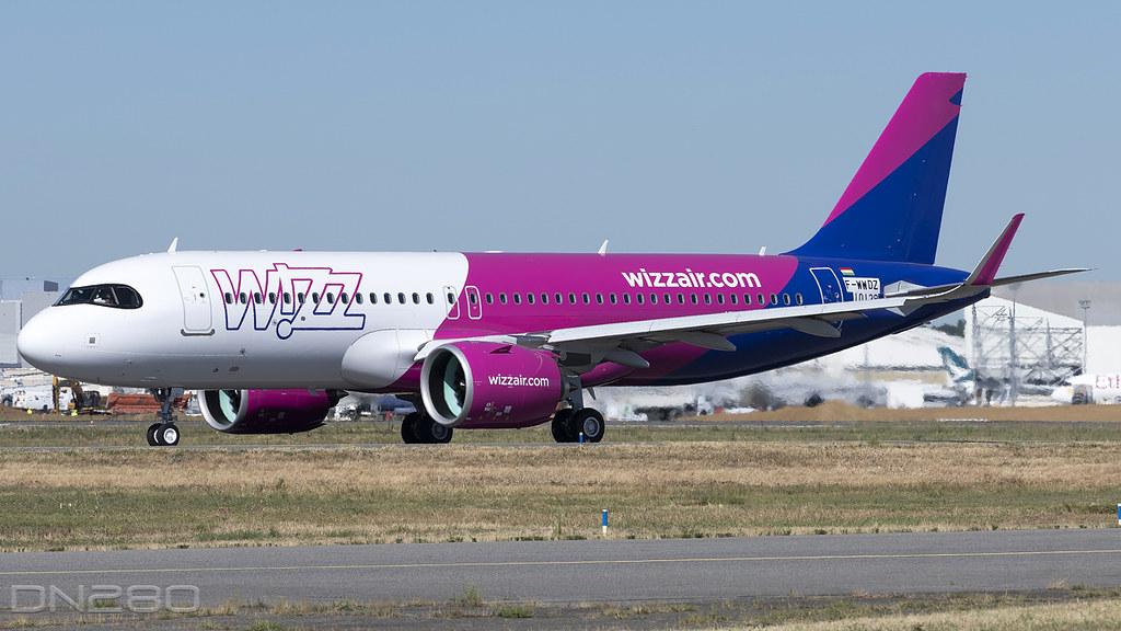 Wizz Air A320-271N msn 10129 F-WWDZ / HA-LJD