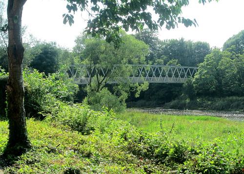 Iron  Bridge over River Annan