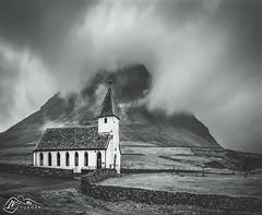 Malinsfjall from Viðareiðis Kirkja