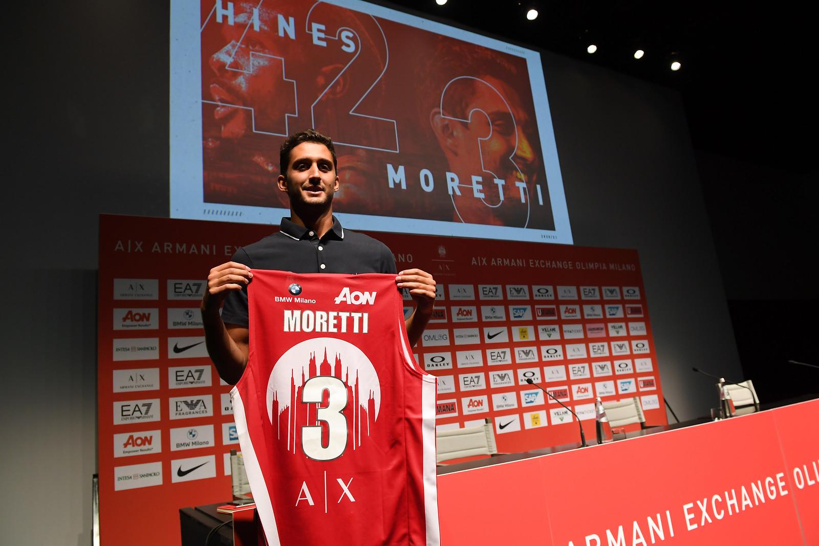"""Davide Moretti: """"Voglio migliorare, Milano è un'opportunità che non potevo perdere"""""""
