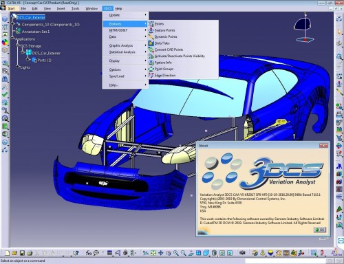 Working with 3DCS Variation Analyst 7.6.0.1 for CATIA V5 R20-29 full