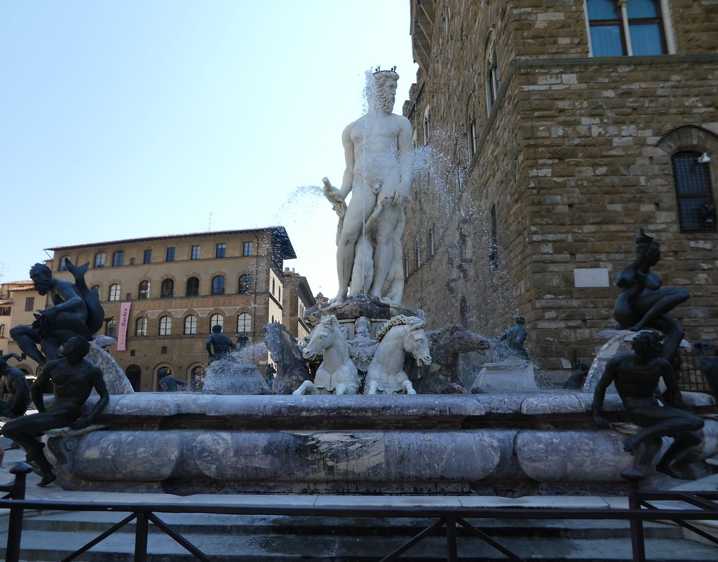 The Neptune Fountain, Florence