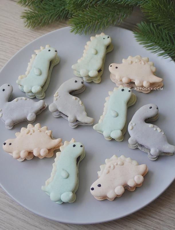Dinosaur Macarons Recipe