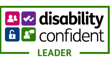 The Disability Confident Leader logo