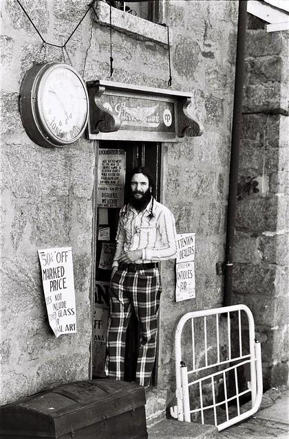 Shopkeeper, Ellicott City, Maryland, 1973