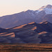 Fading light at Great Sand Dunes National Park