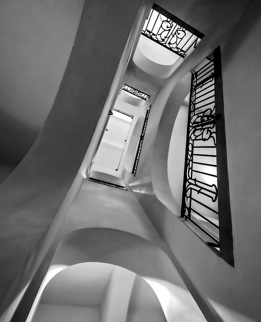 bannister and arches
