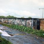 Longridge railway over the M6
