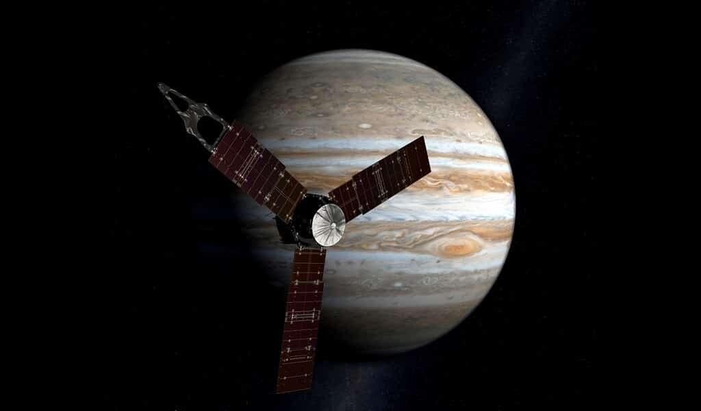 Des boules à l'ammoniac causent des éclairs sur Jupiter