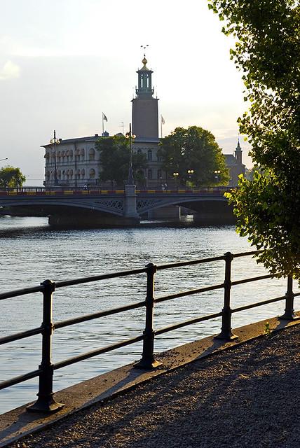 Stockholm, (l'Hôtel de ville) Suède / Stockholm, Sweden