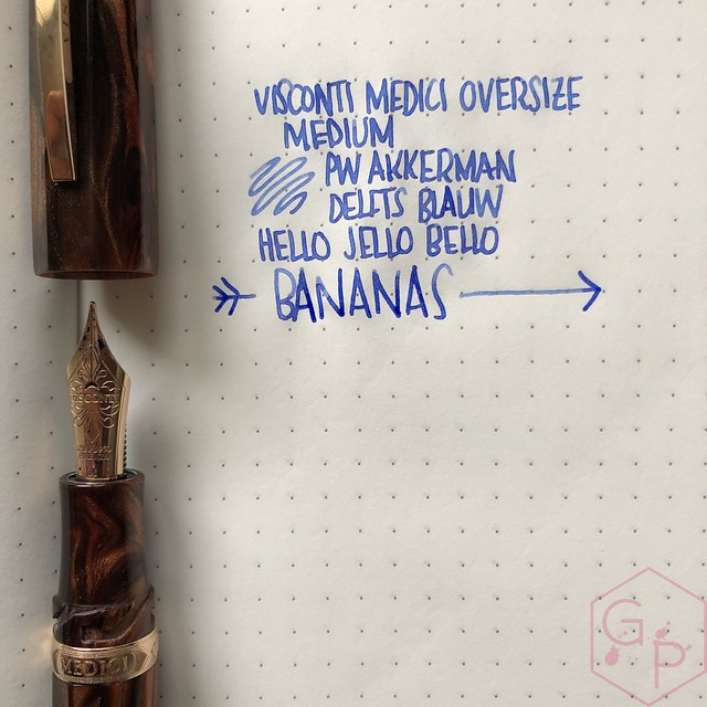 Visconti Medici Rose Sovrano Oversize Fountain Pen 2