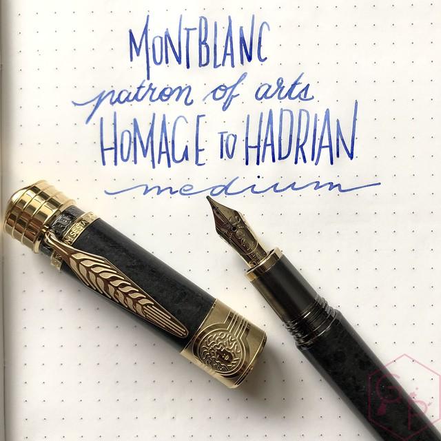 Montblanc Patron of Arts Homage to Hadrian Fountain Pen 17