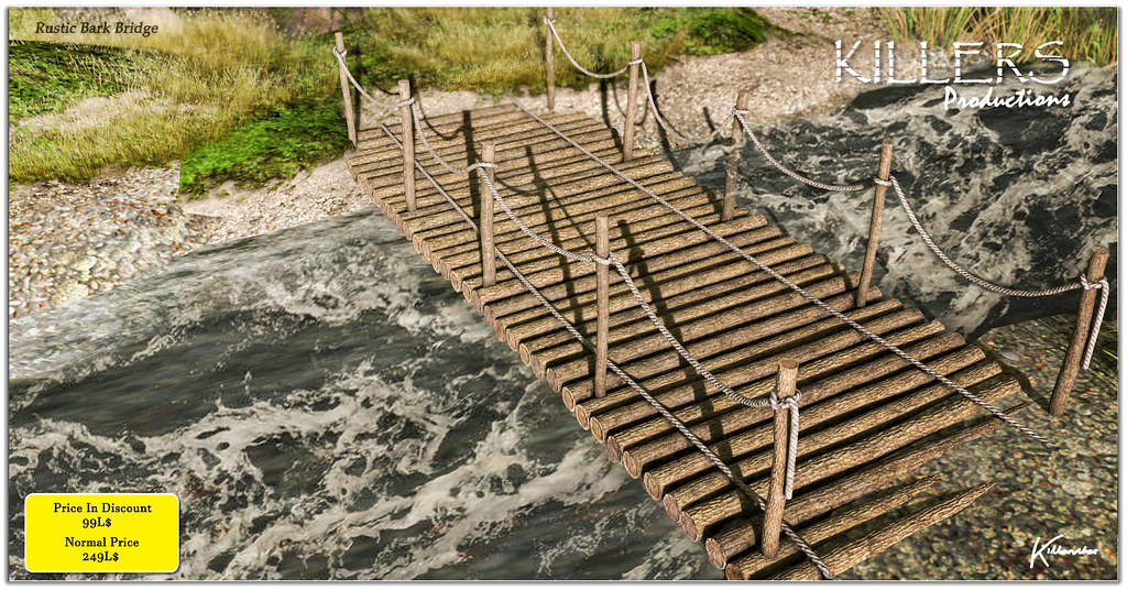 """Killer's"" Rustic Bark Bridge On Discount @ Cosmo Starts from 27th July"