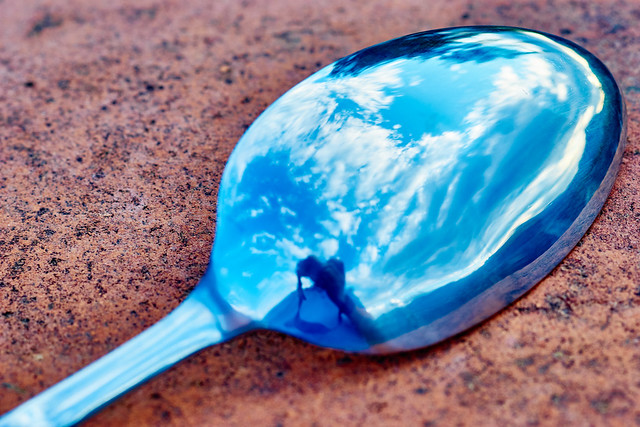 The sky in a spoon