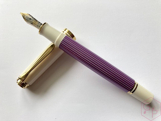 Pelikan Souverän M600 Pink & Violet Fountain Pens 11