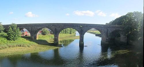 Railway Bridge over River Annan at Annan
