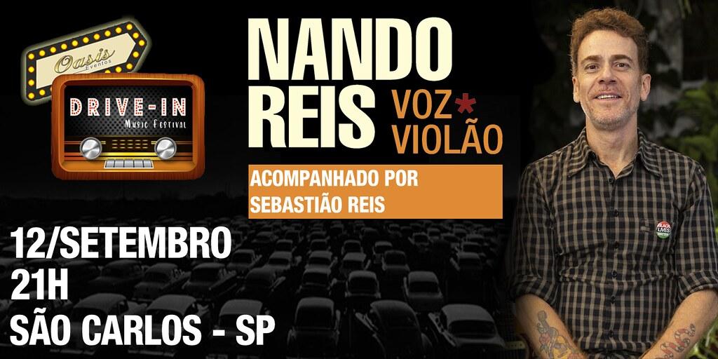 Show NANDO REIS- DRIVE IN