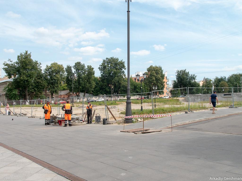Ногинск: как превратить проблемы в преимущество набережная,Ногинск,Подмосковье,пешеходная улица,застройка,архитектура,трамвай,путешествия