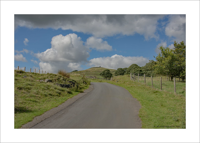 The road to Rivington Pike