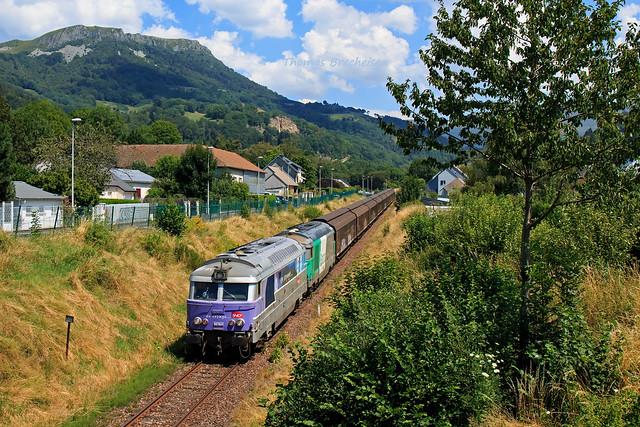 BB 67621 & BB 67460 sur l'EVO EP SMDA - Laqueuille; La Bourboule 30/07/2020