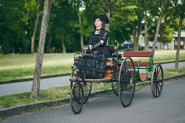 Driving in Victorian Style