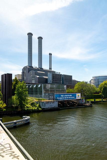 Das Heizkraftwerk Mitte