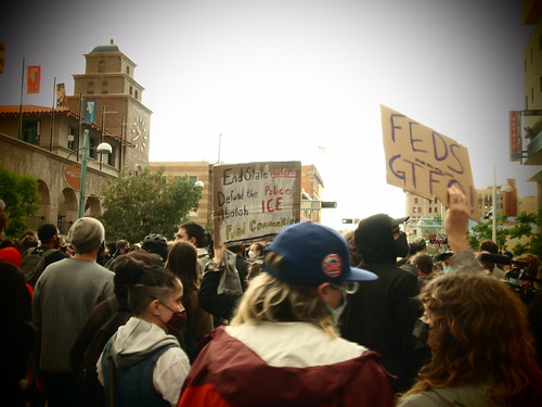 rednation demonstration streetaction albuquerque newmexico downtown defund lloydthrap flickrsbest