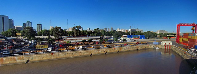 Buenos Aires, harbour
