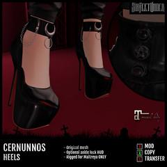Six Feet Under - Cernunnos Heels