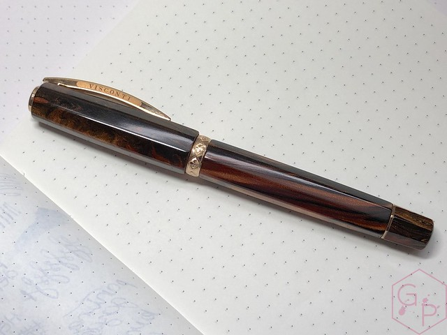 Visconti Medici Rose Sovrano Oversize Fountain Pen 1