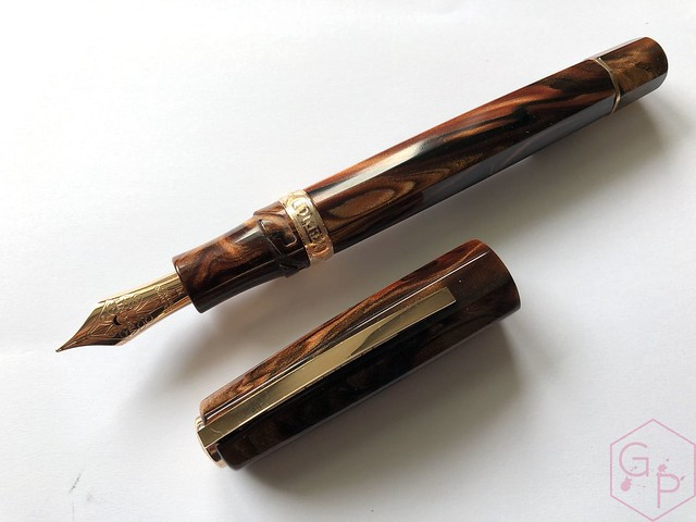 Visconti Medici Rose Sovrano Oversize Fountain Pen 14