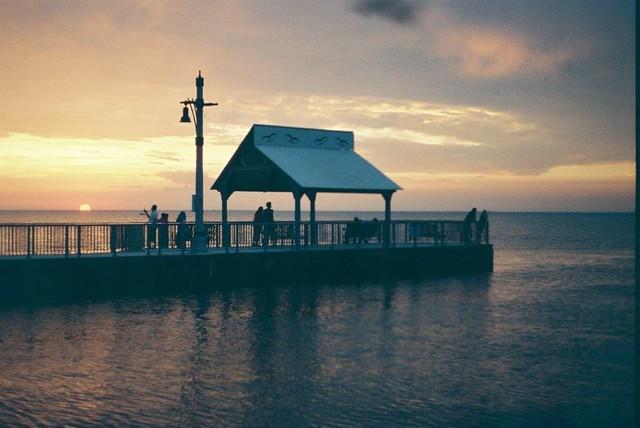 Sunset On The Pier. Belle River, ON.