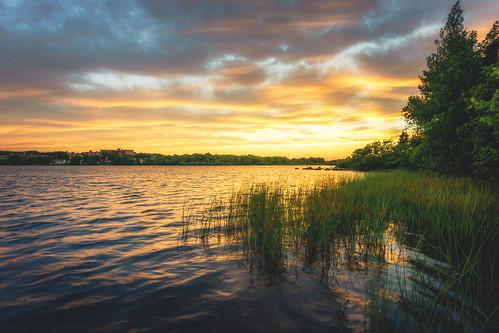 albrolake sunset dartmouth goldenhour novascotia canada
