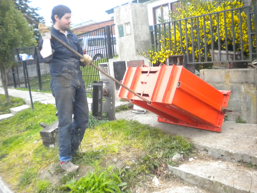 Construcción de dragas para extracción de muestras de fondo marino_prof 5000 m_2