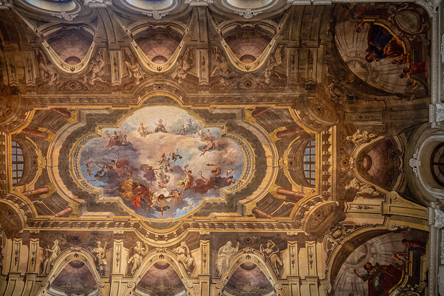 Incredible Italian church ceiling