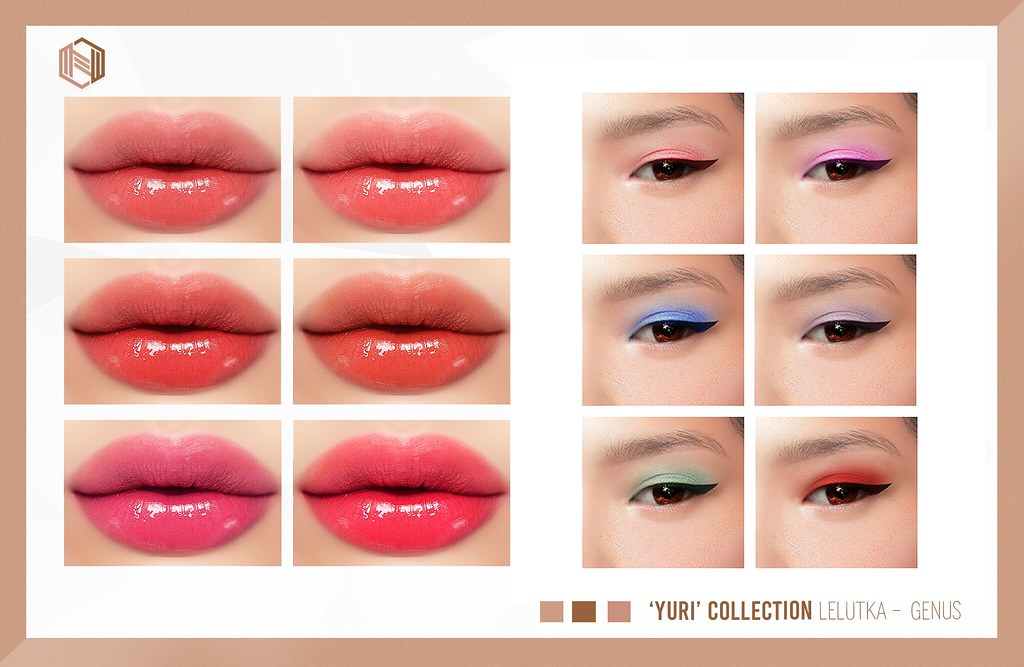 NEW RELEASE + GIVEAWAY - 'YURI' COLLECTION @THEKAWAIIPROJECT