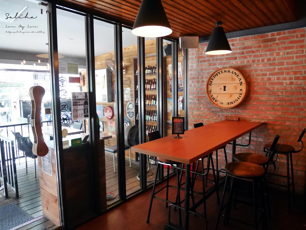 台北大安區光復南路附近不限時早午餐廳下午茶推薦ABV Bar Kitchen 地中海餐酒館精釀啤酒喝酒小酌 (1)
