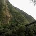 Passerelle et cascade (à sec) du Bras de Mahot