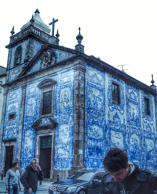 Blue Tile Walls
