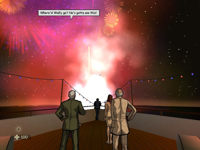 XIII - Carrington and Colonel Amos Fireworks