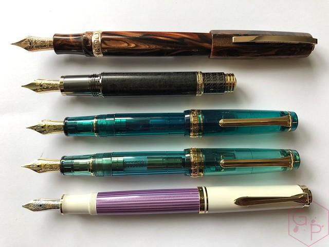 Pelikan Souverän M600 Pink & Violet Fountain Pens 16