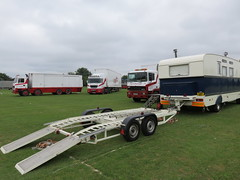 Unimog1300L posted a photo:	pulling on at West Park, Goole. Most of the trucks and trailers are ex Bobby Roberts Super Circus.