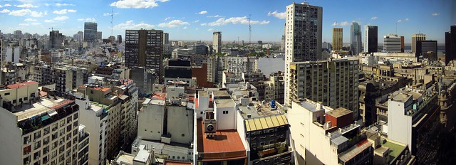 Buenos Aires, from our hotel