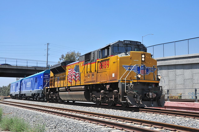 UP8989  CP Rancho with BNSF crew onboard
