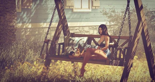 Serenity Style- Anoka Swing Bench 1