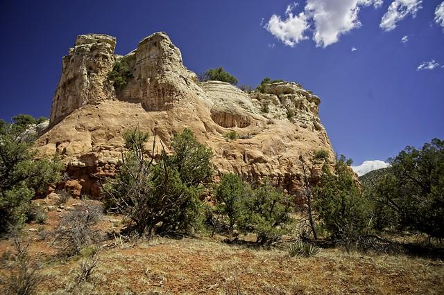 Rock inside Sand Canyon