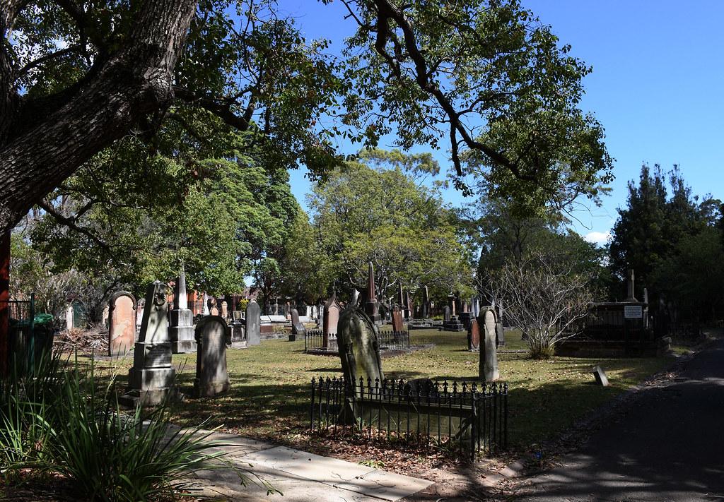 St John's Anglican Church Cemetery, Ashfield, Sydney, NSW.