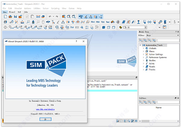 Working with Dassault Systemes SIMULIA Simpack 2020.1 full