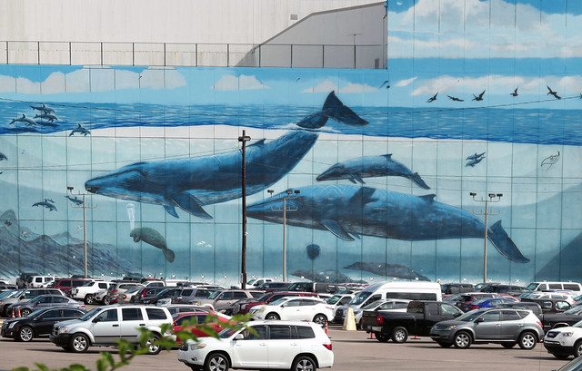 The Whaling Wall. New Orleans.